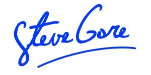 steve gore signature